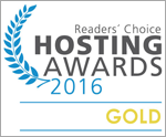 Hosting Award 2016 GOLD für webgo