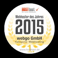 Webhoster des Jahres 2015