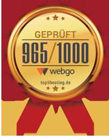 Erfahrungen & Bewertungen zu webgo GmbH bei Top 5 der deutschen Webhoster Vergleich