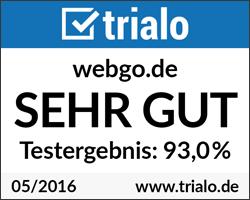 webgo Test- und Erfahrungsbericht bei trialo.de