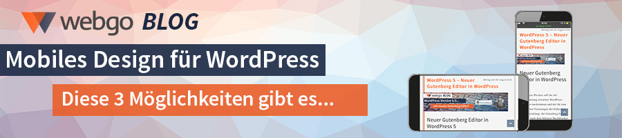 wordpress mobil responsive design