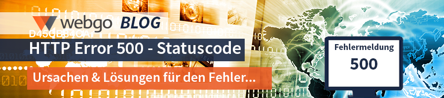 Statuscode 500, Internal Server Error - Hilfe