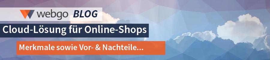 Online-Shop in der Cloud – Merkmale, Vorteile & Nachteile