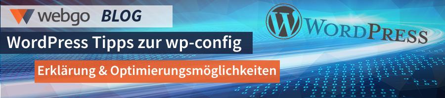 Was ist die wp-config.php und wir kann ich Sie anpassen?