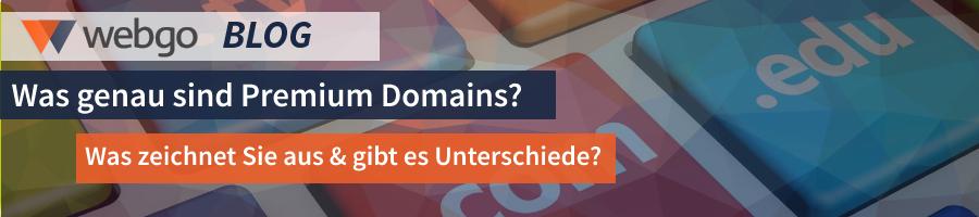 Was sind Premium Domains